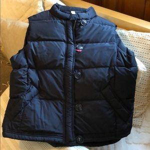 J Crew puffer vest size XL